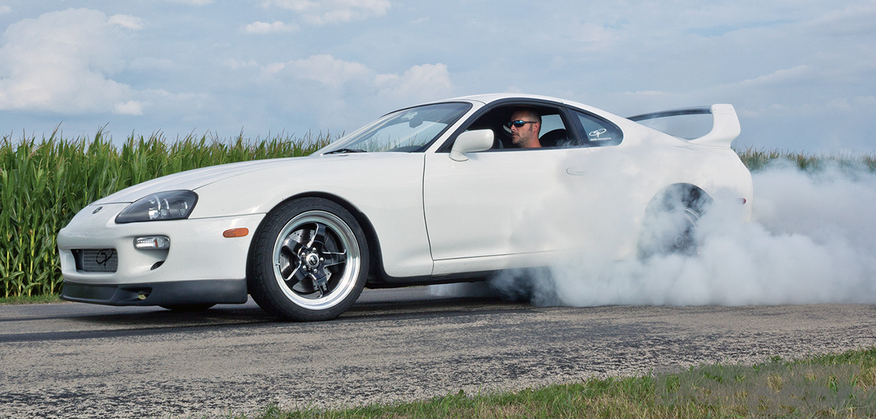 DSPORT Magazine feature car 1,174-horsepower Toyota Supra