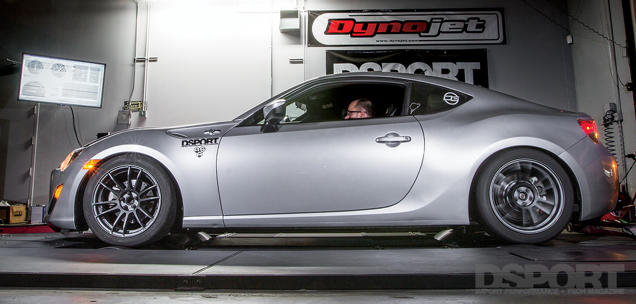 DSPORT Magazine D'GARAGE Scion FR-S flex fuel tech story