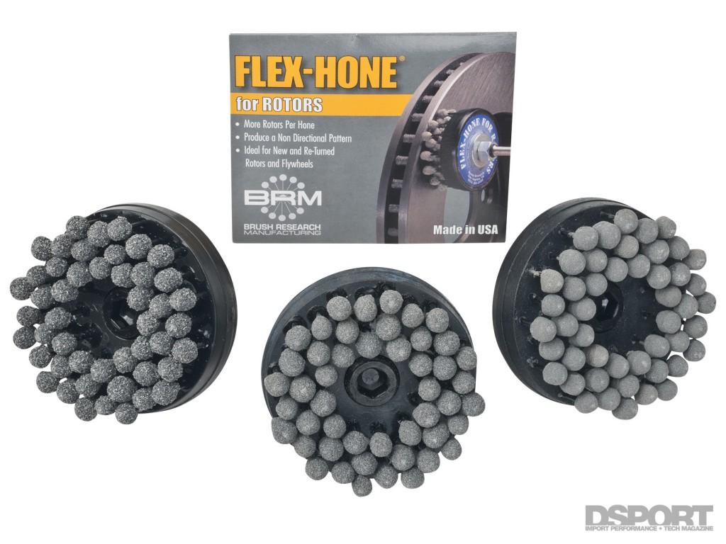 DSPORT Magazine Quick Tech editorial on Flex-Hone for Brake Rotors
