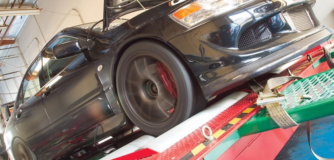 Test & Tune 2003 Mitsubishi EVO 8 4G63T in DSPORT Magazine